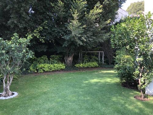 moderna casa calle cerrada en jardines del pedregal