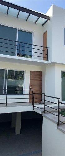 moderna casa en colonia residencial vista panoramica