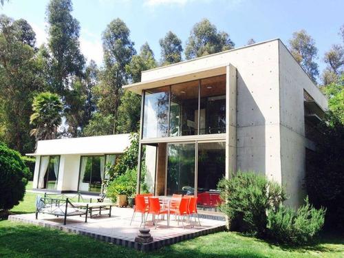 moderna casa en sector los guindos de buin 1