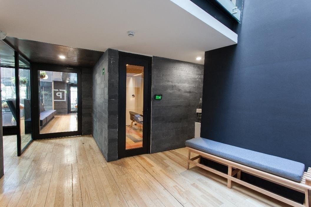moderna oficina  equipada con todos los servicios incluidos en polanco de 7m2.