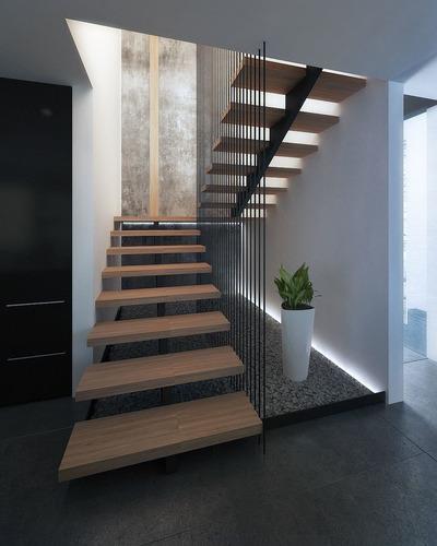 moderna y hermosa propiedad p.b