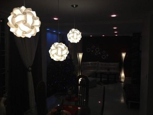 modernas lamparas de plastico techo