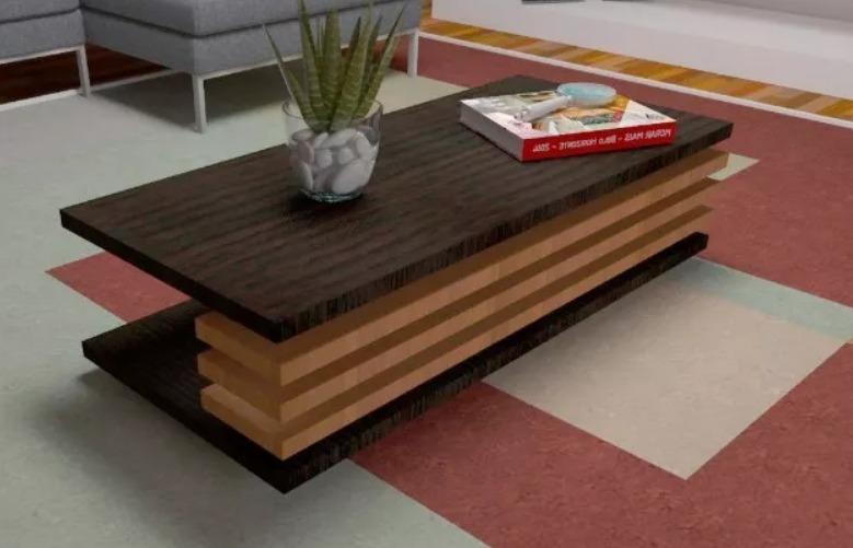 Modernas mesas de centro sala recibo minimalistas en for Mesas de centro para sala modernas