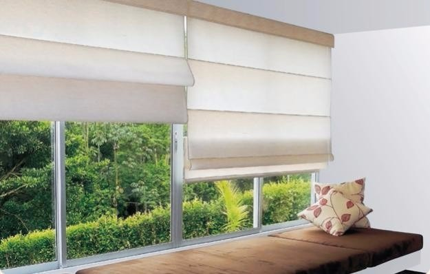 Modernas y elegantes persianas moderniza tus espacios - Persianas de tela enrollables ...