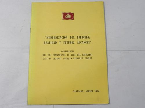 modernizacion del ejercito augusto pinochet 1994