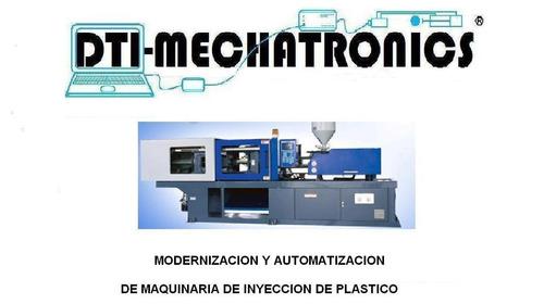 modernizacion y automatización de maquinas inyectoras
