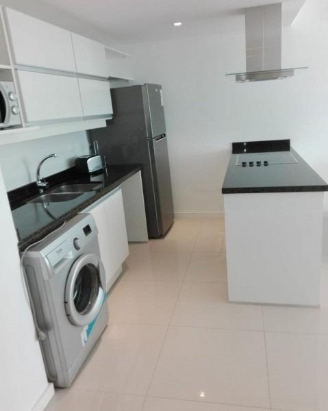 moderno apartamento de dos dormitorios en alquiler anual- ref: 29224
