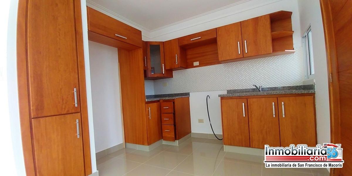 moderno apartamento en san francisco de macoris