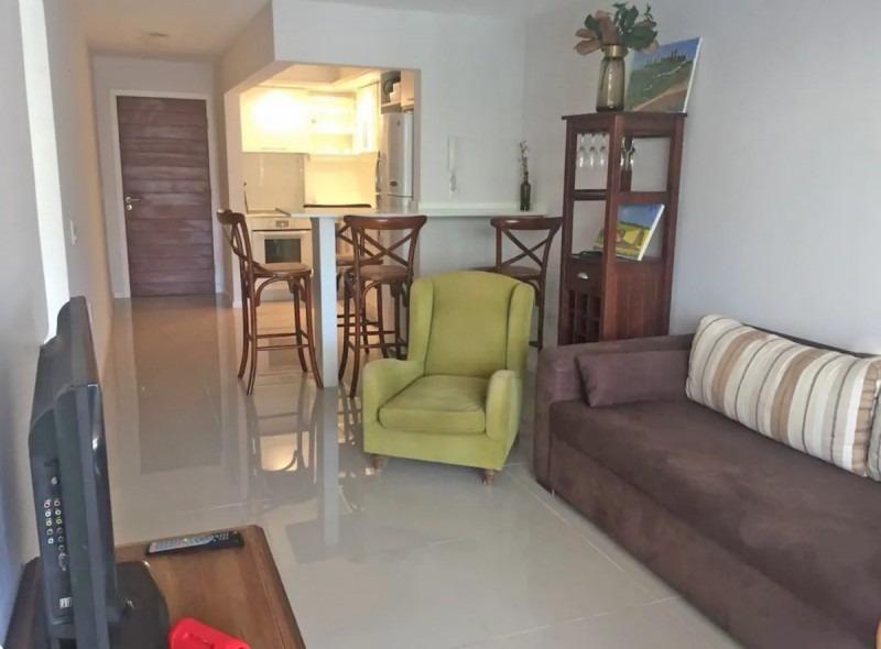moderno apartamento en venta un dormitorio  aidy grill, punta del este- ref: 5620