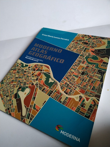 moderno atlas geografico - 6º ao 9º ano