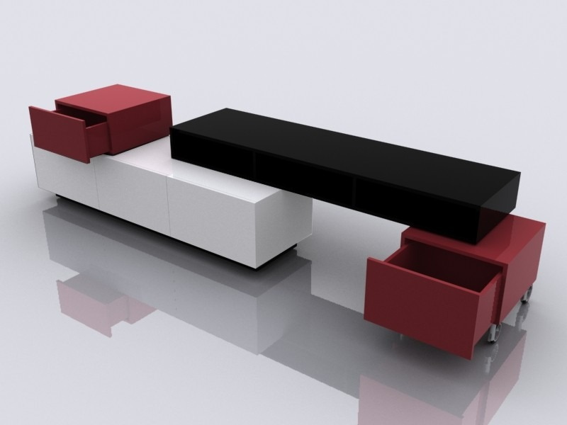 Moderno Centro De Entretenimiento Modular Minimalista  $ 7,39000 en