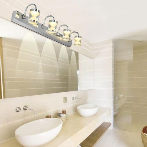 Moderno Cuarto De Baño Espejo Vanidad Baño... (warm Whit ...