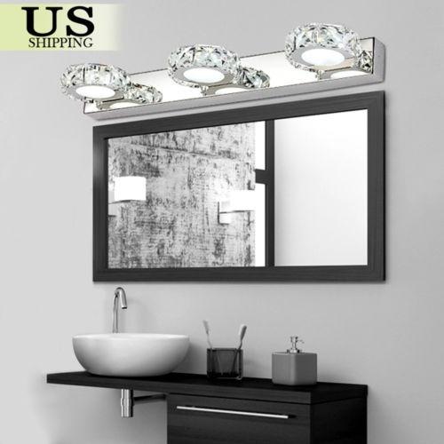 Moderno Cuarto De Baño Iluminación Led... (3 Round L.) - $ 112.990 ...