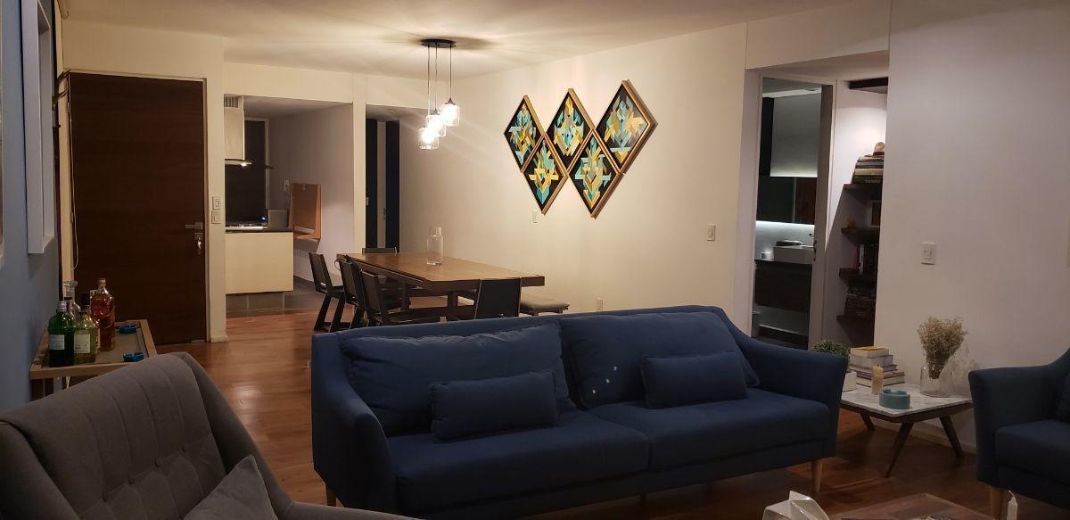 moderno departamento / 144 m2 / edificio exclusivo