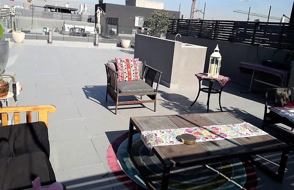 moderno departamento duplex con maravillosa terraza panorámica