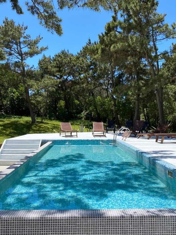 moderno dpto a mts del mar y centro.spa piscina climatizada