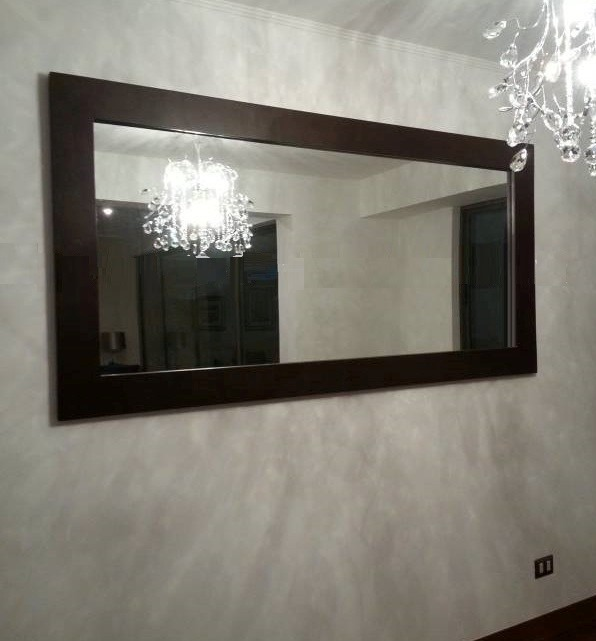 Espejos decorativo vinilos o cristales decorativos para for Espejos decorativos en madera