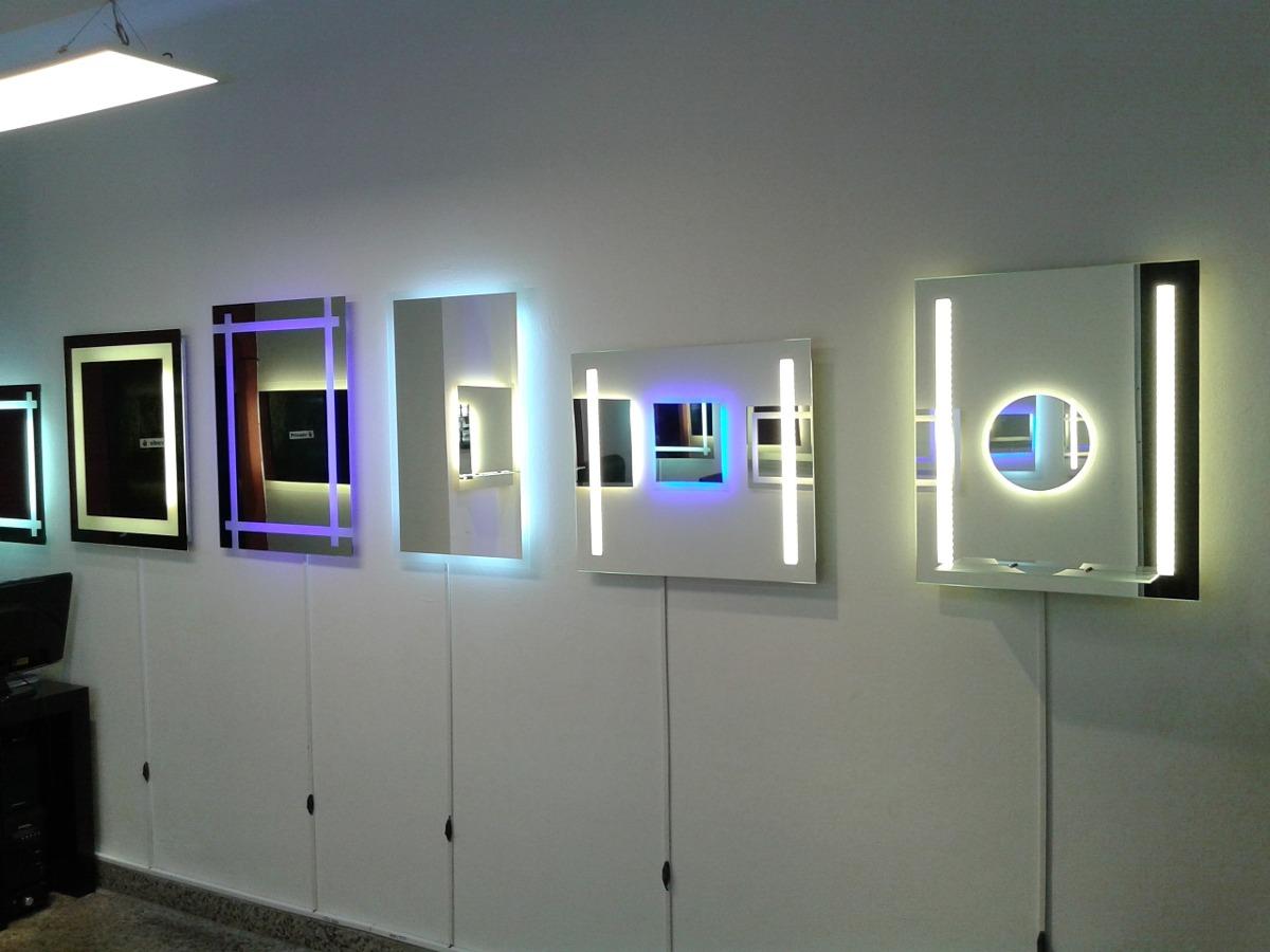 moderno espejo led deco dg con luz led y diseo a medida