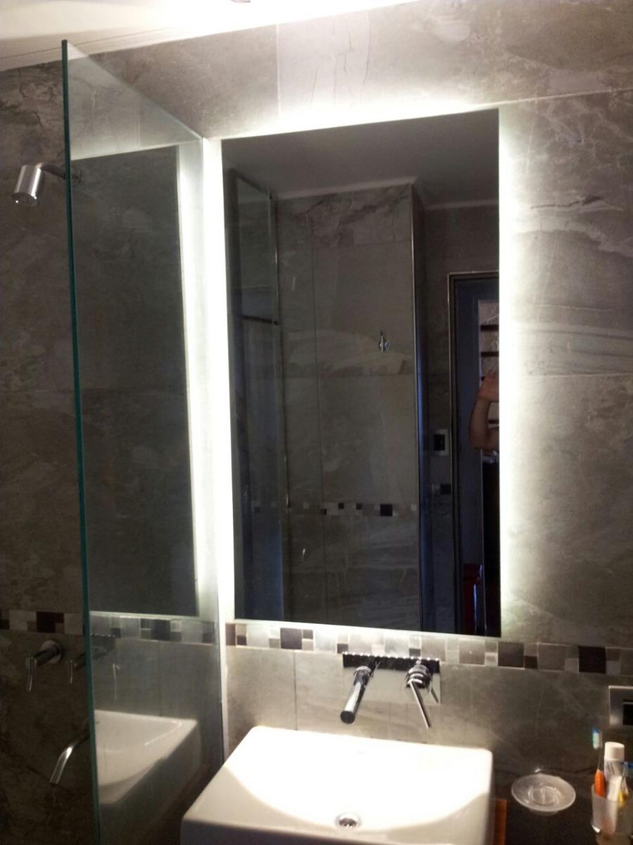 Espejos Para Bano Con Luz.Moderno Espejo Para Bano Con Luces Led Leddeco 6 370 00 En