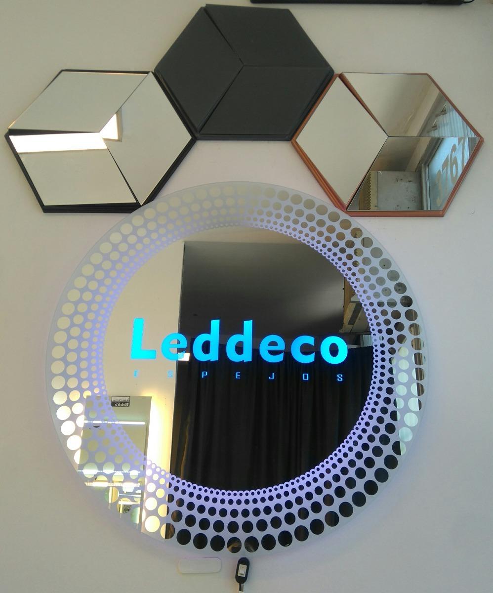 Moderno Espejo Para Baño Con Luces Led. Leddeco - $ 5.980,00 en ...