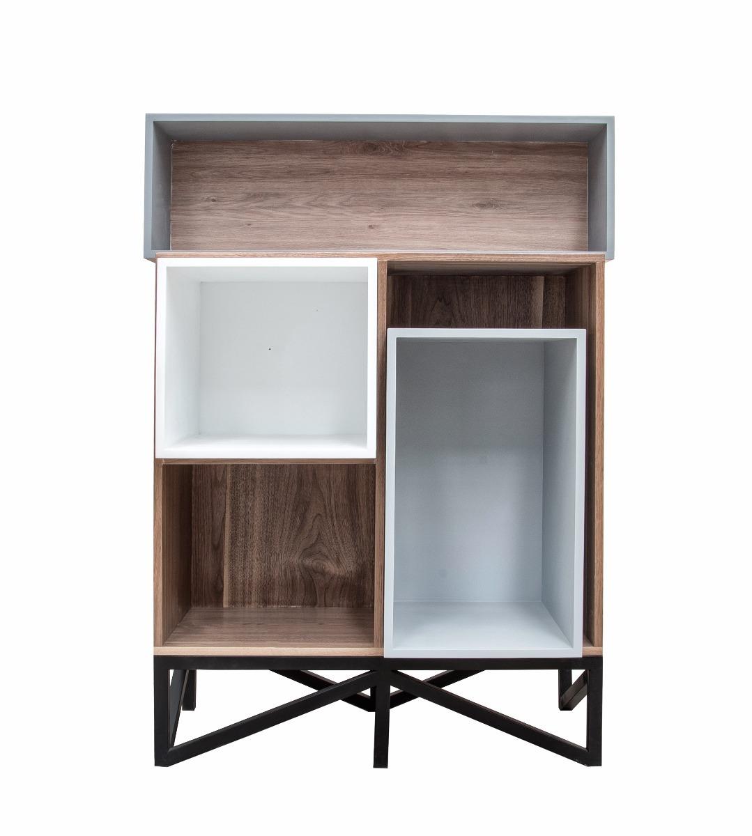 Moderno Librero Juguetero Bufetera Vitrina Exhibidor  # Muebles Bufeteros Modernos