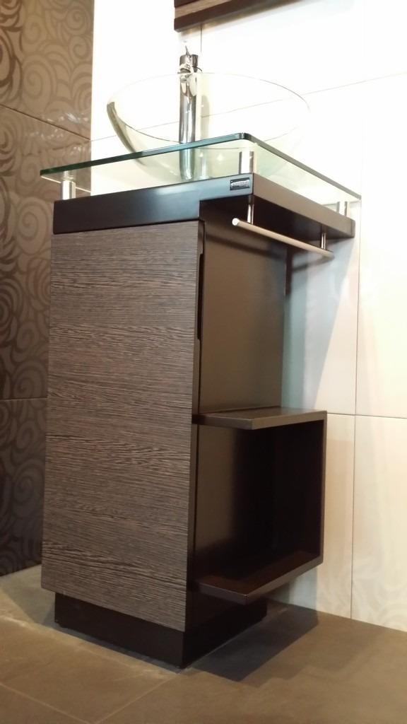 Moderno mueble para ba o con ovalin de cristal barato lizeth 5 en mercado libre - Tu mueble barato ...