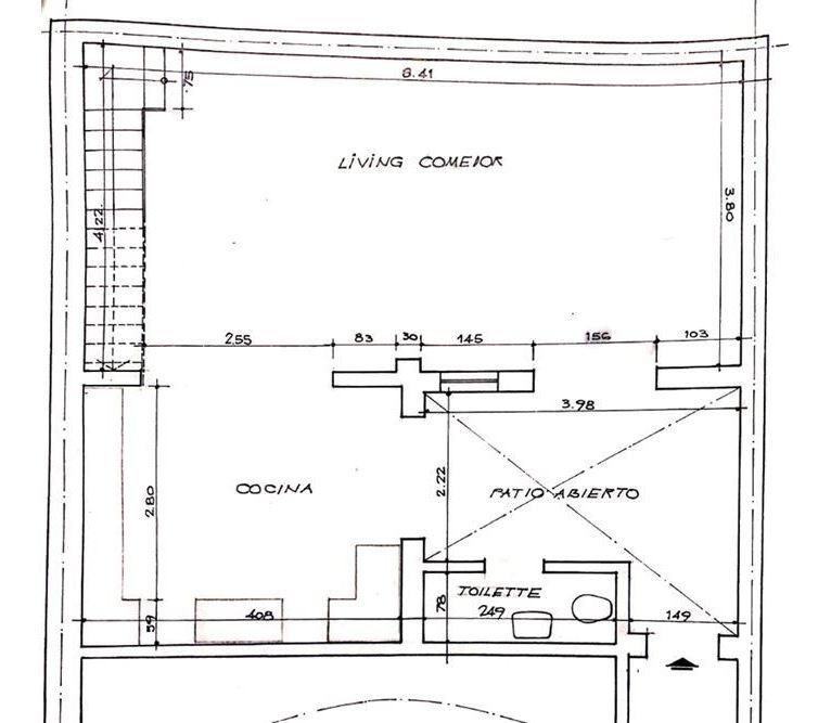 moderno ph 3 amb c/ 2 patios-pque chacabuco