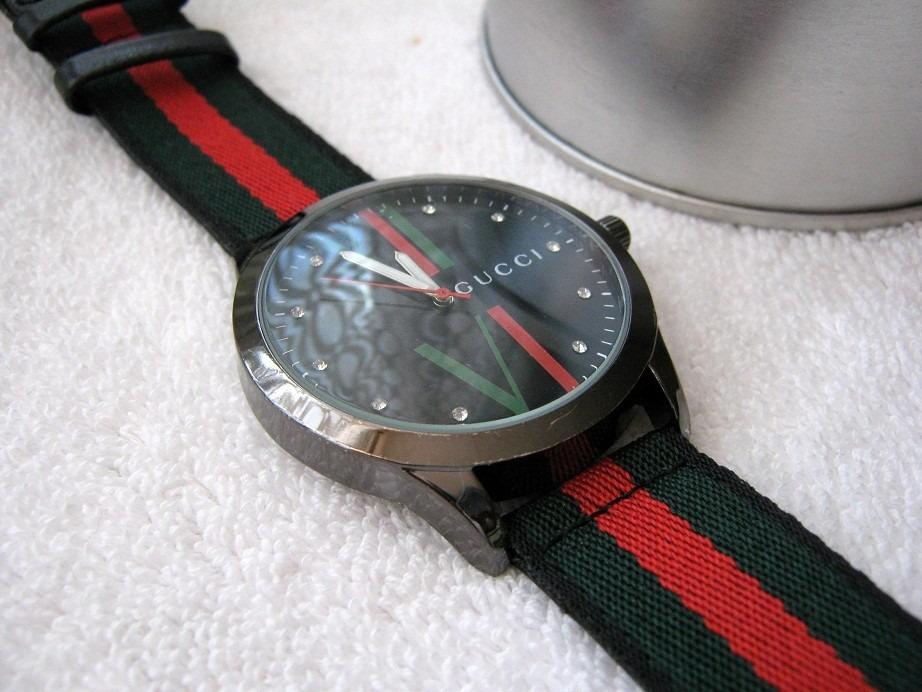10329477e9760 Moderno Reloj Gucci Grande Lona Envio Gratis -   460.00 en Mercado Libre