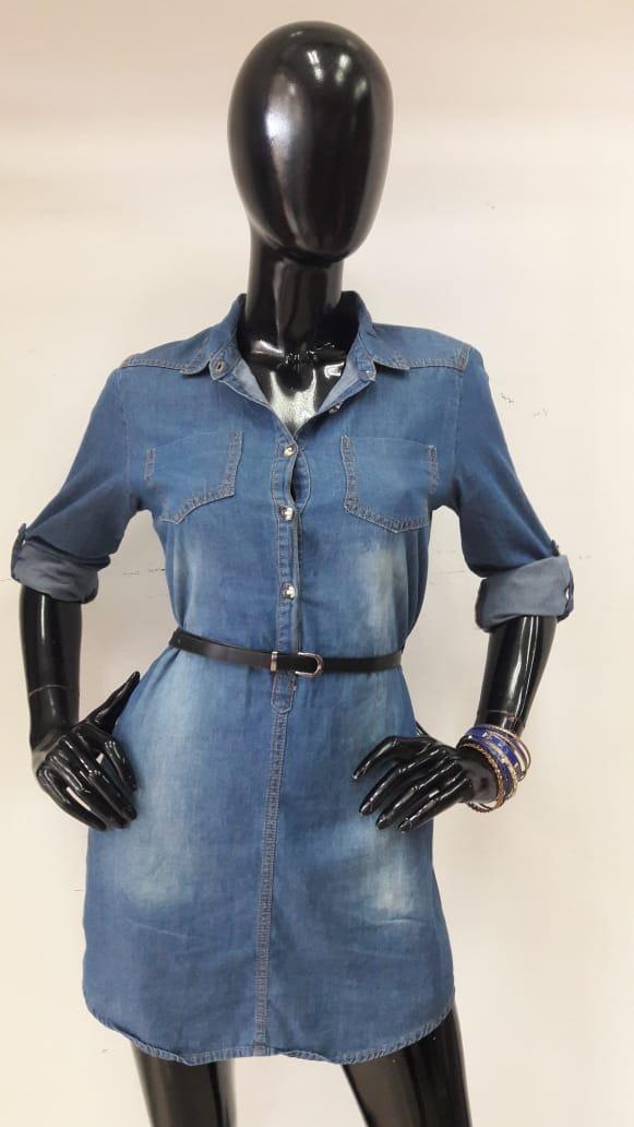 Vestidos de mezclilla modernos