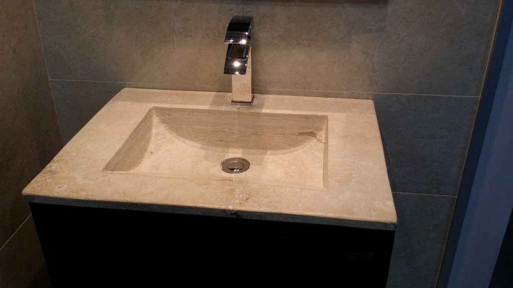 Modernos muebles para ba o de marmol chocolate mdf - Tiradores modernos para muebles de bano ...
