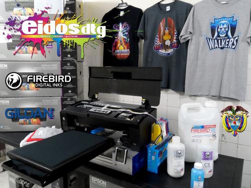 modificacion de impresoras dtg para impresion de camisetas