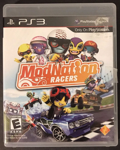 modnation racers ps3 + envio gratis
