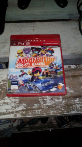 modnation racers ps3 fisico