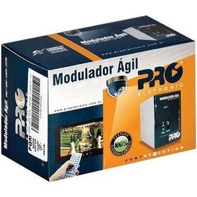 Modulador Ágil Pro Pqmo 2600b Não Adjacente Camera Segurança