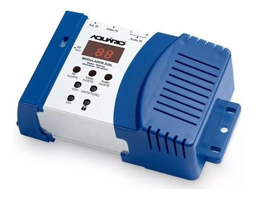modulador ágil rf aquário para tv - áudio e vídeo - mod-002