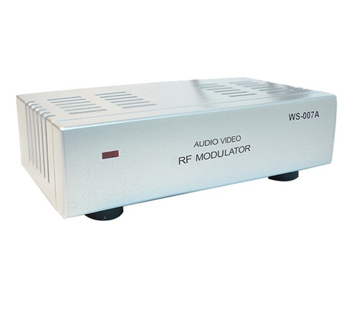 modulador rca audio video para rf parabolica receptor camera