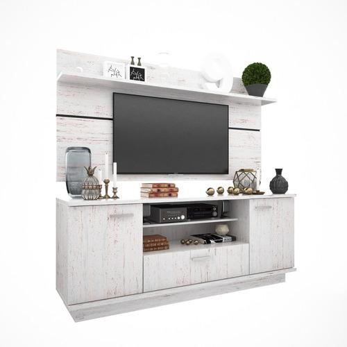 modular 2 cuerpos con panel tv led dl852 kromo-s