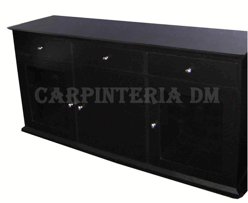 modular bajo tv 170cm roble // carpinteria dm