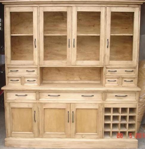 modular bodega 2 mts madera maciza amoblamienhabitat