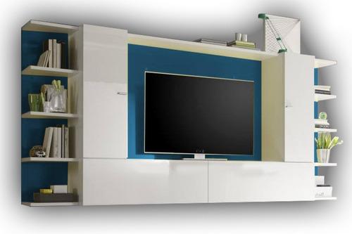 modular - centro de entretenimiento - organizador - lcd led