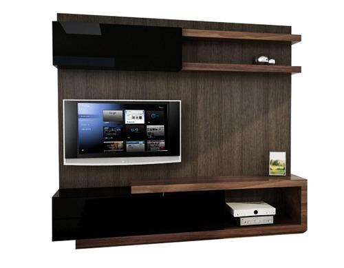 modular - centro de entretenimientos - mesa lcd led - rack