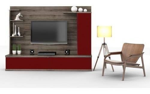modular centro de entretenimientso mesa para lcd led moderno
