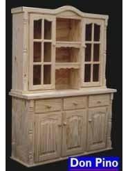 modular de pino, modelo torneado -1,40 ancho-
