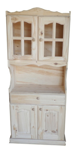 modular de pino rosario 75cm pino, la fortaleza muebles.