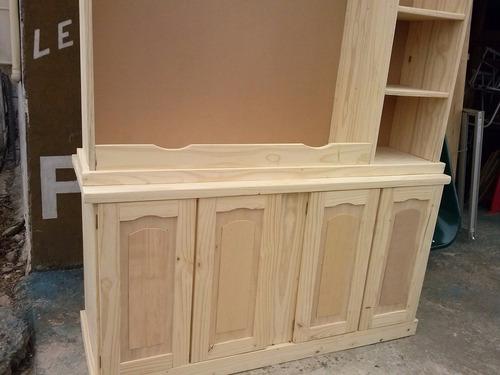 modular madera maciza curada y seca a horno de 1,60x2,10 x60
