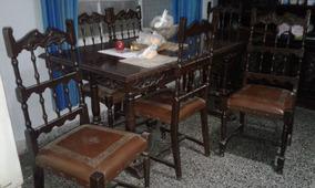 Muebles Mano Segunda Juegos De Antiguos Comedor En m8N0nw