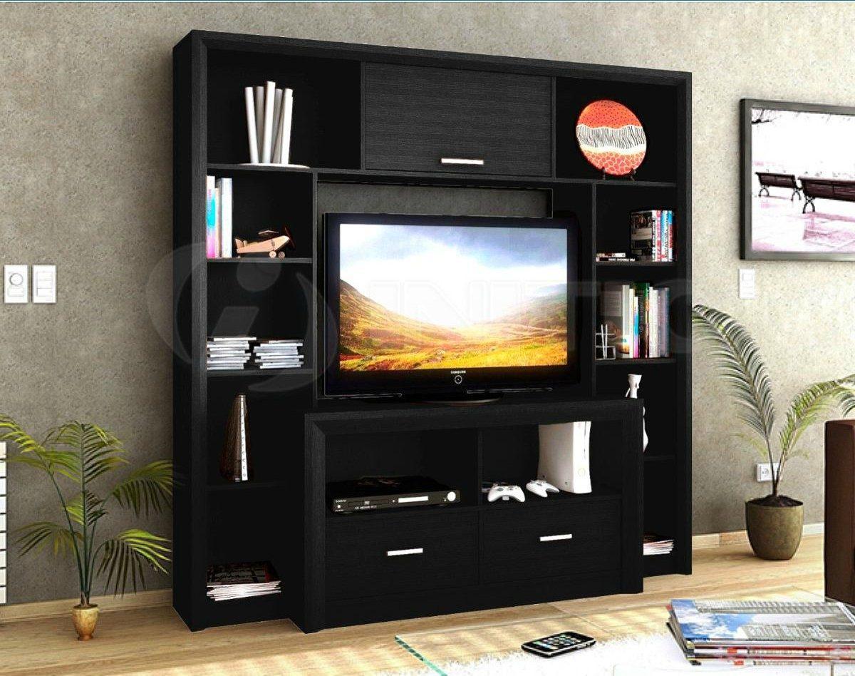 Modular Mueble Mesa De Tv Led Lcd Estantes De Biblioteca 7 250  # Muebles Bibliotecas Modulares