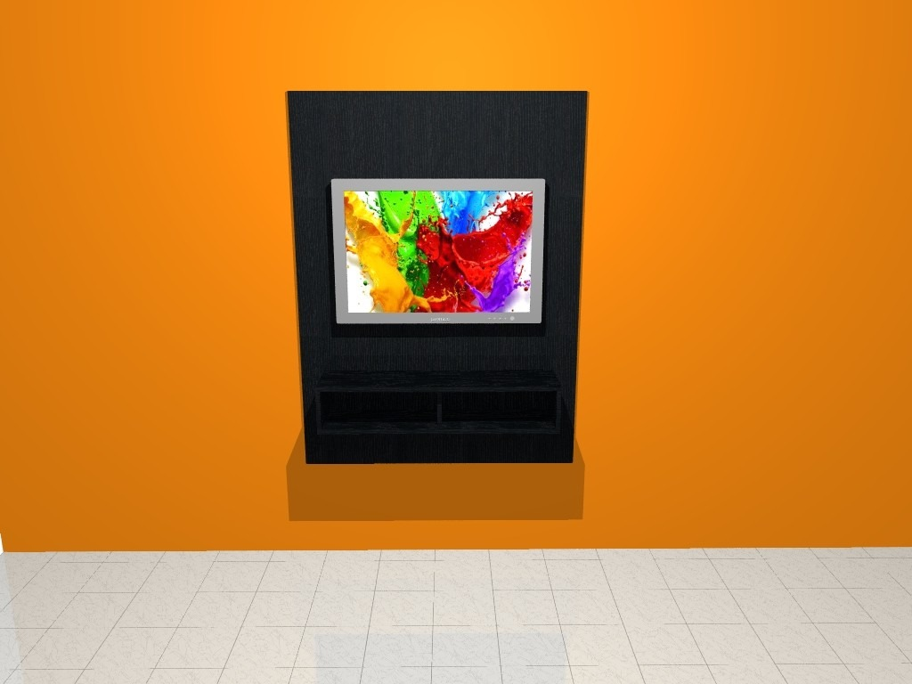 Modular Mueble Lcd Mesa Bolonia Tv Vajillero Rack Led 3 000  # Muebles Cipriano Lanus