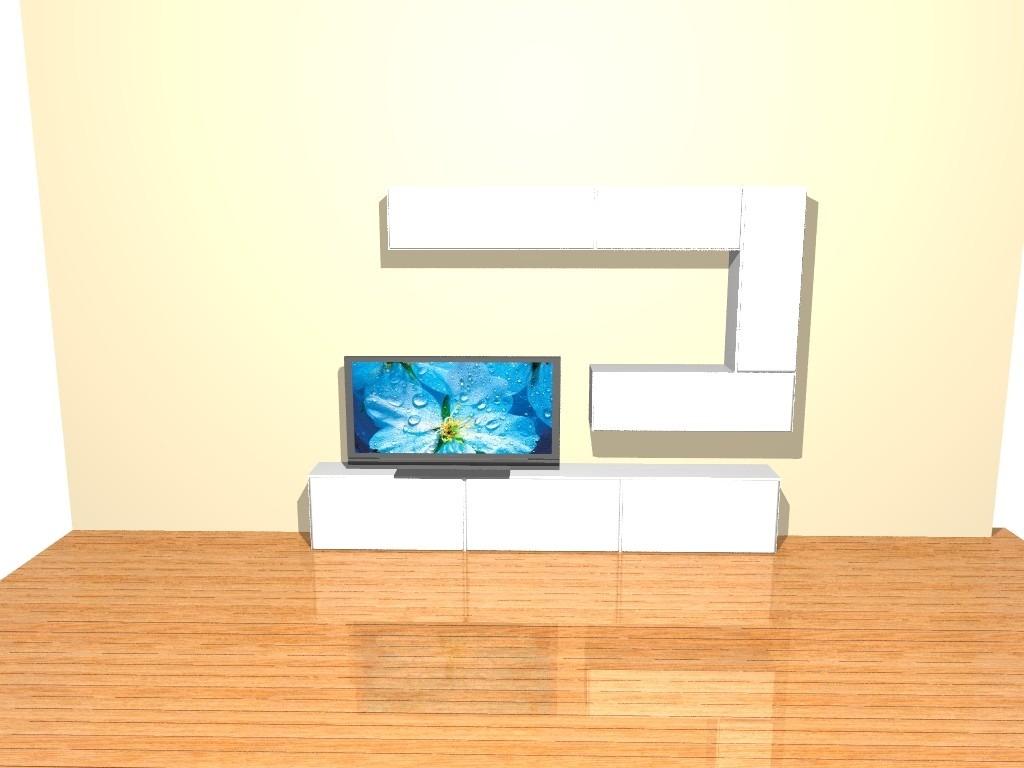 Modular Mueble Lcd Mesa Para Tv Vajillero Rack Led 8 500 00  # Muebles Cipriano Lanus