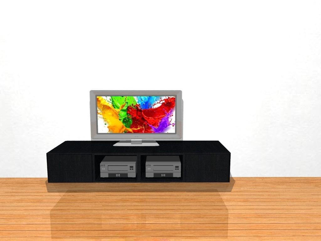 Modular Mueble Lcd Tv Mesa De Led Salerno 2 Mts Moderno  # Muebles Cipriano Lanus